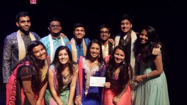 4th Annual Greeks Got Talent: 2nd Place with the Ladies of Delta Phi Omega!